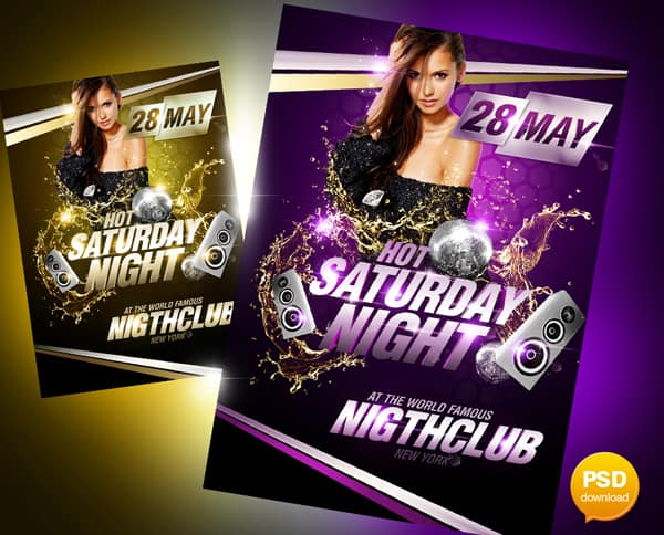 20 free party flyer templates collections free party flyer templates maxwellsz