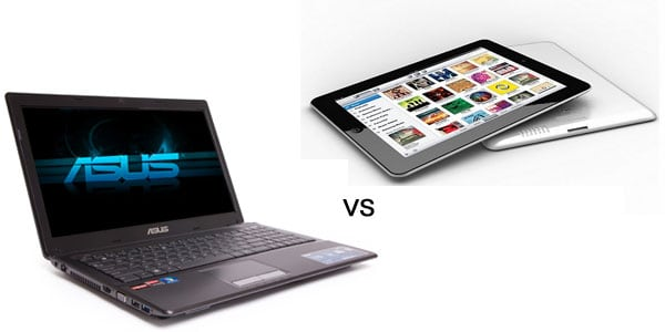 laptop vs ipad