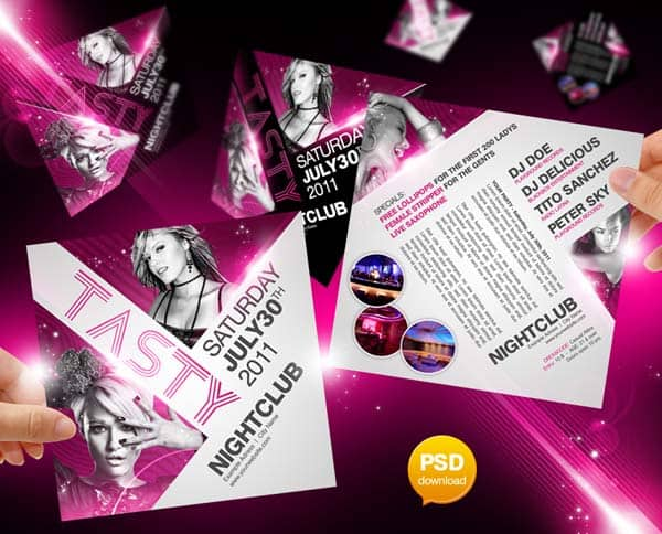 tasty party flyer template by party flyer 20+ Free Party Flyer Templates Collections