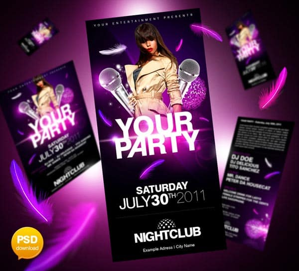 ultimate party flyer psd by party flyer 20+ Free Party Flyer Templates Collections