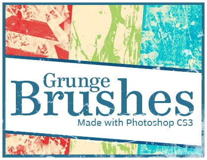 1 20 Photoshop Grunge Brushes