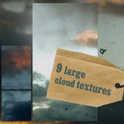 9 large cloud textures by Kiho chan 20 Sky Backgrounds Collections