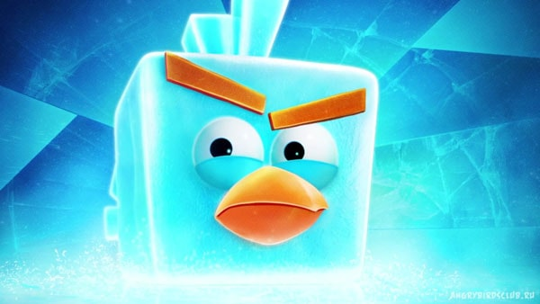 Angry Birds Space Ice Bird Angry Birds Space Wallpapers