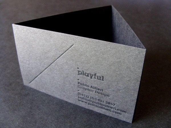 Business Cards 08 40+ Impressive Foil Stamped Business Cards