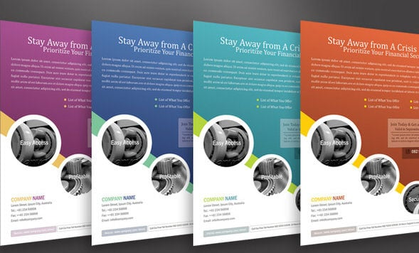 20 Corporate Business Flyer Templates