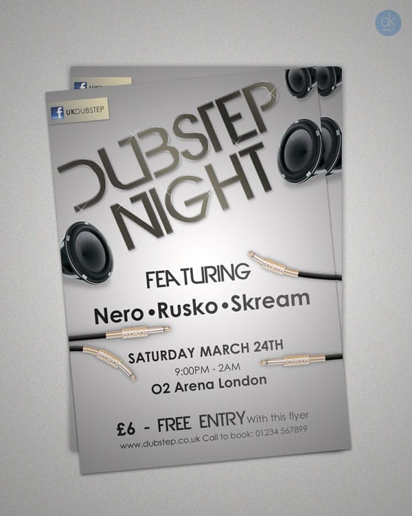 Club Flyer template 35 Free and Premium PSD Nightclub Flyer Templates