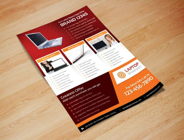 Digital Product Showcase Flyer 20 Corporate Business Flyer Templates
