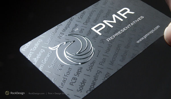 Foil Stamping Business Cards1 40+ Impressive Foil Stamped Business Cards