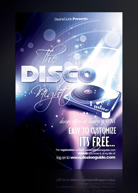 Free Disco Night Flyer Template 35 Free and Premium PSD Nightclub Flyer Templates