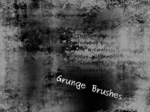 Grunge Brushes  The Gimp  by ascariosa1 20 Photoshop Grunge Brushes