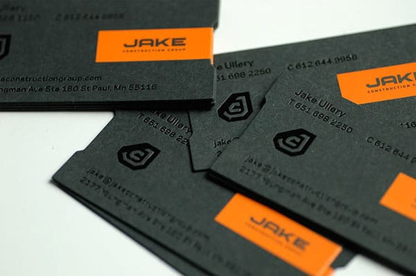 Jake Ullery 40+ Impressive Foil Stamped Business Cards