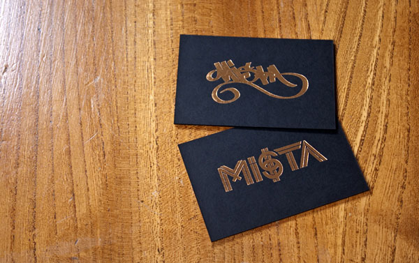 MitA business cards 40+ Impressive Foil Stamped Business Cards