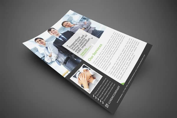 Modern Corporate Flyer 20 Corporate Business Flyer Templates