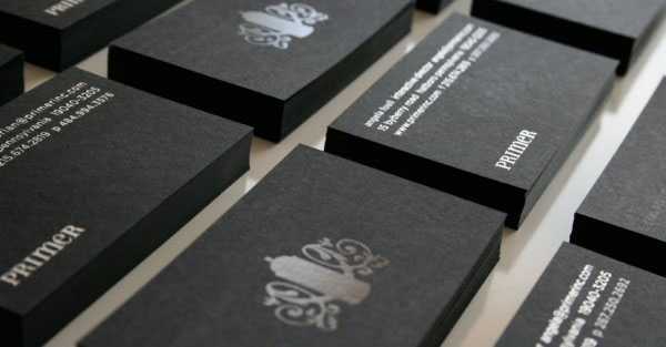 Primer business cards 40+ Impressive Foil Stamped Business Cards