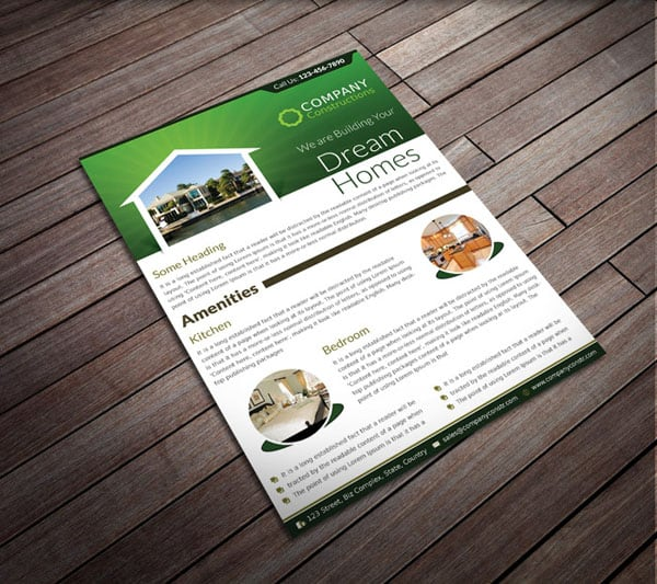 Real Estate Corporate Flyer 20 Corporate Business Flyer Templates
