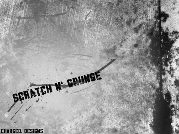 Scratch n   Grunge Brushes by elliottfelix2 20 Photoshop Grunge Brushes