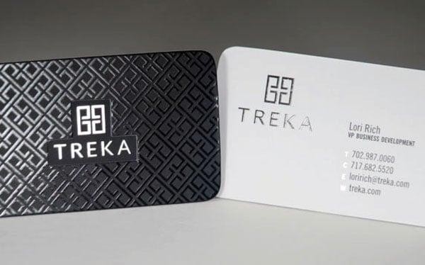 Silk Squared Business Cards 40+ Impressive Foil Stamped Business Cards