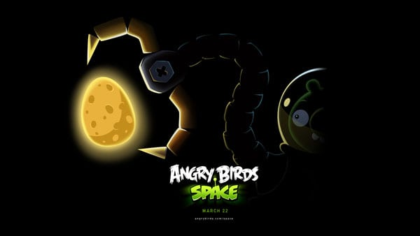 Space wallpaper teaser Angry Birds Space Wallpapers