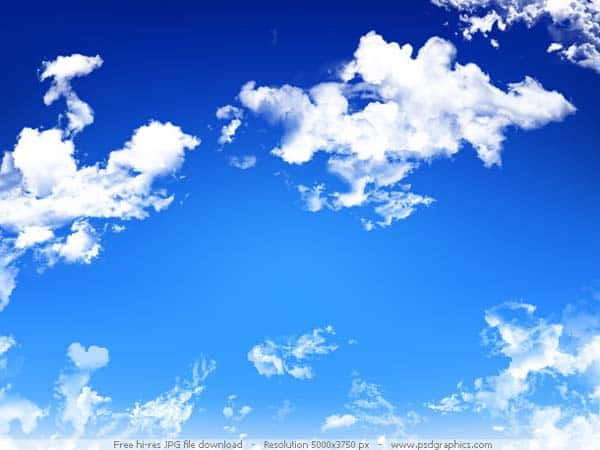 blue sky 20 Sky Backgrounds Collections