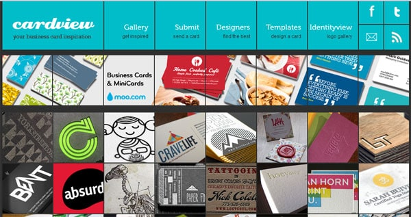 cardview 10 Top Business Card Websites