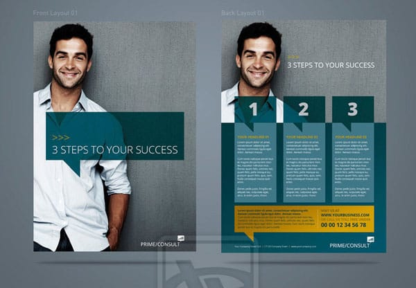 doa corporate flyer 01 by design on arrival d4rgpaw 20 Corporate Business Flyer Templates