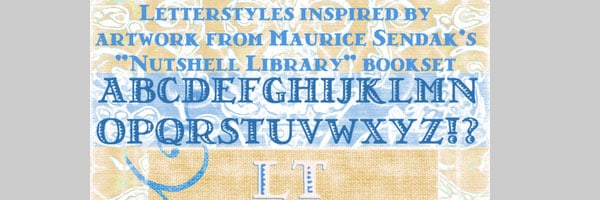 nutshell library 25 Old English Letters