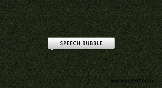 speech bubble White Speech Bubble PSD