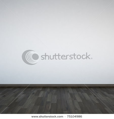 stock photo blank white walls and wooden floor  20 Grey Abstract Background Collections