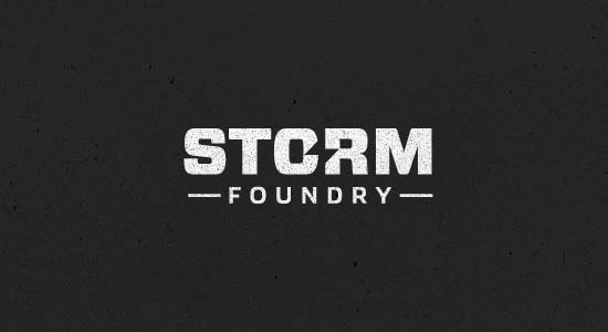 storm foundry 80+ Creative Logo Designs Inspiration