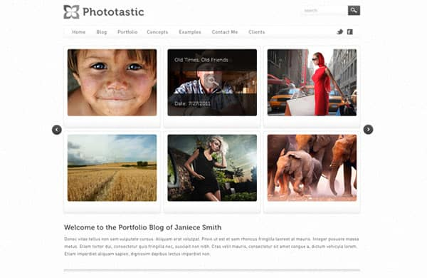 07 35 Stunning and Free PSD Website Templates
