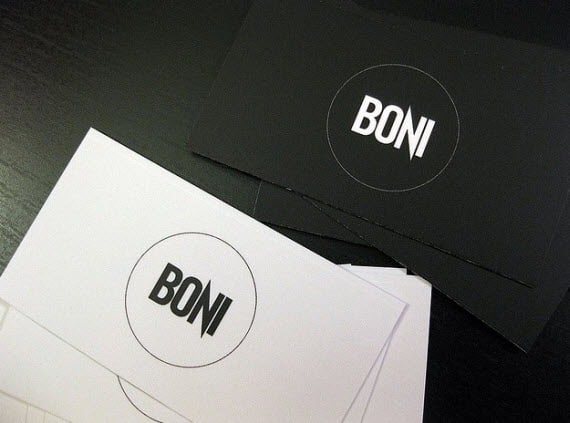 10minimalbusinesscards 25 Impressive and Simple Business Card Designs