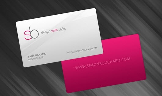 13minimalbusinesscards 25 Impressive and Simple Business Card Designs