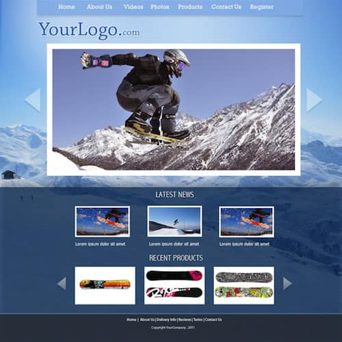 17 35 Stunning and Free PSD Website Templates