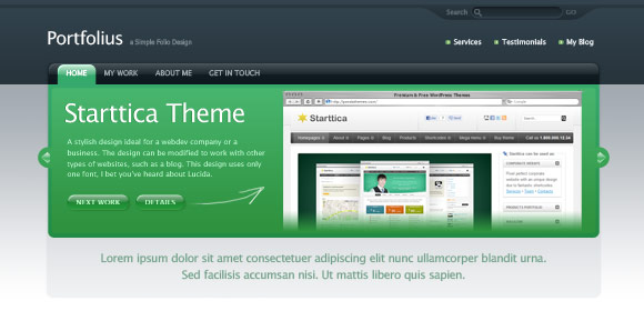 18 35 Stunning and Free PSD Website Templates