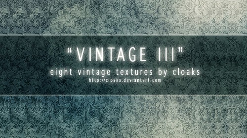 2 Vintage III Texture Pack 50+ Cool Vintage Texture Collections