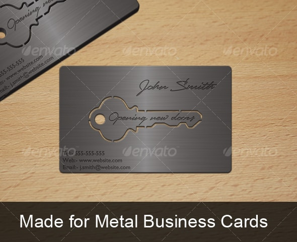 25 Superb Metal Business Cards Inspiration