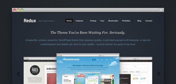 27 35 Stunning and Free PSD Website Templates