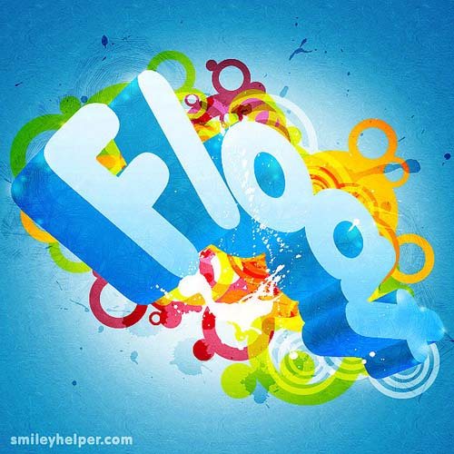 3D Colorful Abstract 25+ Awesome 3D Text Effects Photoshop Tutorials