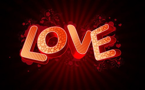 3D Love text 25+ Awesome 3D Text Effects Photoshop Tutorials