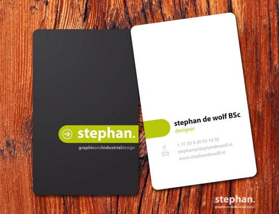 4minimalbusinesscards 25 Impressive and Simple Business Card Designs