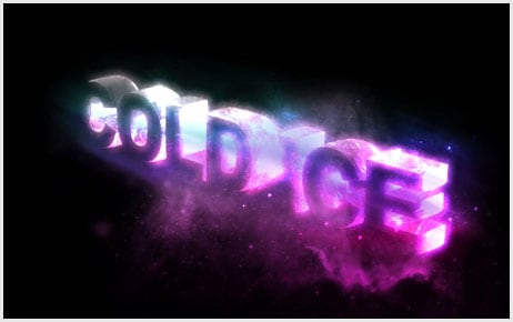 81 25+ Awesome 3D Text Effects Photoshop Tutorials