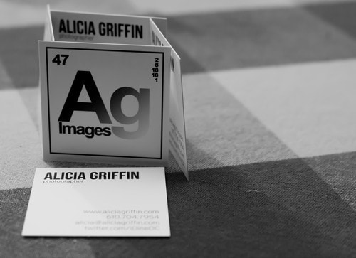 Alicia Griffin 50+ Brilliant Square Business Cards