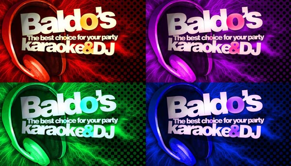 Baldos DJ and Karaoke by kwant 50+ Dj Music Business Cards & Designs