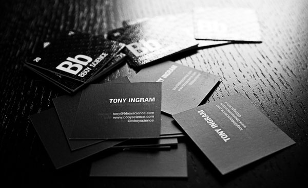 Bboy Science 50+ Brilliant Square Business Cards