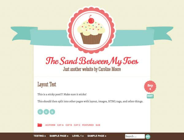 Buttercream 50 Free and Premium Responsive WordPress Themes