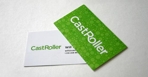 CastRoller Business Cards 20+ Impressive High quality Business cards