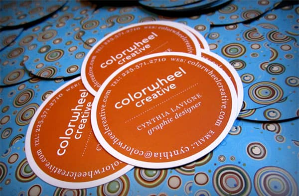 Cynthia Lavigne 30+ Creative Round Business Cards