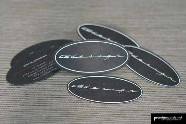 Die Cut Business Cards 30+ Creative Round Business Cards