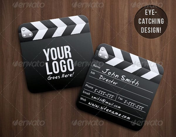 Director Mini Squared 50+ Brilliant Square Business Cards