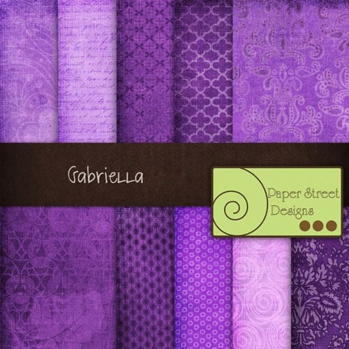 Gabriella 20 Cool Damask Textures and Patterns Collections